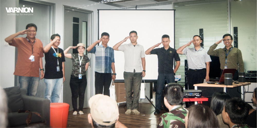 Whom Has The Best Salute Posture