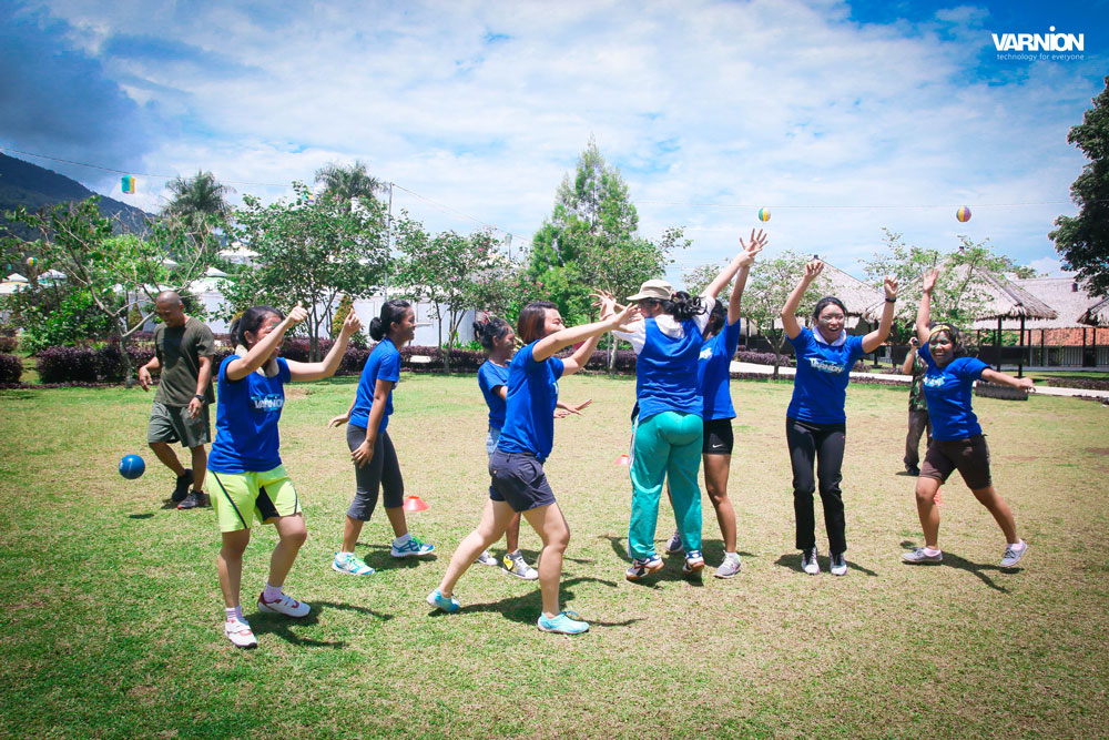 Alpha Team Won The Competition - Varnion Ladies Camp 2015 - Day 2
