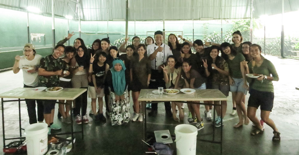 Cooking Race - Varnion Ladies Camp 2015 - Day 1