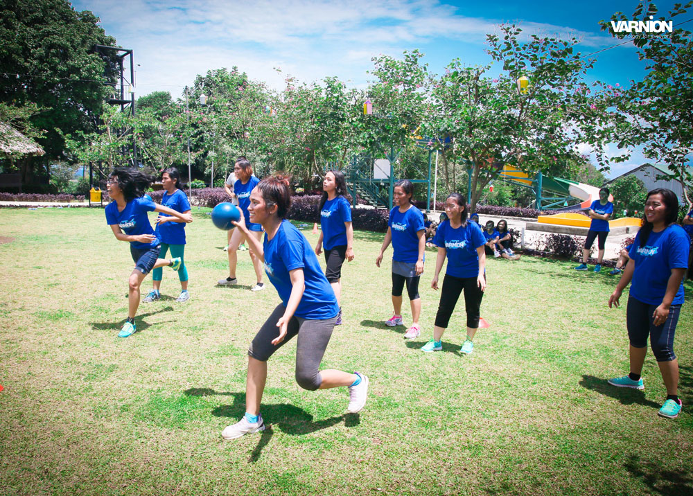 Dodgeball Competition - Varnion Ladies Camp 2015 - Day 2