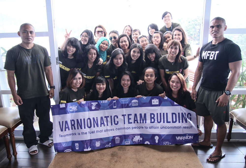 Varnion Ladies Camp 2015 with Trainers from MFBTI