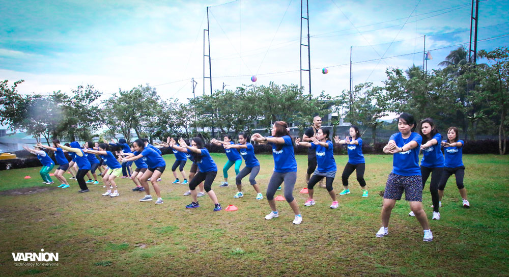Varnion Ladies Camp 2015 - Day 2 - Trained by MFBTI